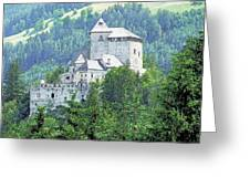 Burg Reifenstein Sterzing Italy Greeting Card