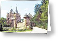 Burg Satsvey Germany Greeting Card