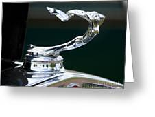 Cadillac Hood Ornament Greeting Card
