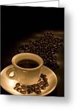 Calgary, Alberta, Canada Coffee Beans Greeting Card