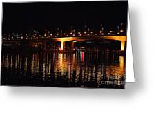 Cambie Street Bridge Greeting Card