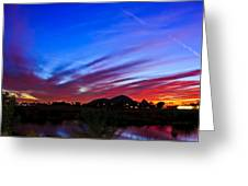 Camelback Mountain At Sunset Greeting Card