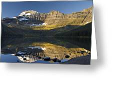 Cameron Lake, Waterton, Alberta, Canada Greeting Card