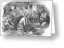 Camp Meeting, 1852 Greeting Card