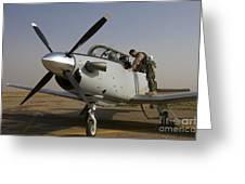 Camp Speicher, Iraq - U.s. Air Force Greeting Card