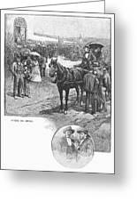 Canada: Church, 1883 Greeting Card