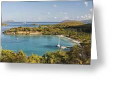 Caneel Bay Panorama Greeting Card