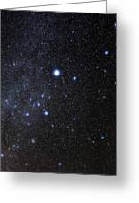 Canis Major Constellation Greeting Card