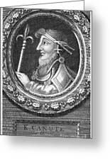 Canute I (c995-1035) Greeting Card