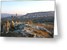 Cappadocia Turkey Greeting Card