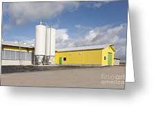 Cattle Feeding Tanks Greeting Card