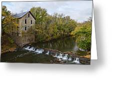 Cedar Point Mill Greeting Card