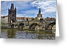 Charles Bridge - Prague Greeting Card