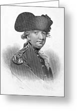 Charles Cornwallis Greeting Card
