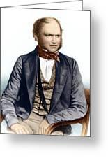 Charles Darwin, British Naturalist Greeting Card