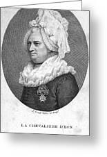 Charles Deon De Beaumont Greeting Card