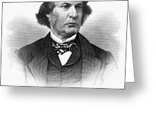 Charles Sumner (1811-1874) Greeting Card by Granger