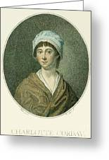 Charlotte Corday Greeting Card by Granger