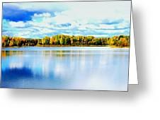 Chena Lakes Greeting Card
