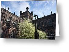 Chester Cathedral Greeting Card