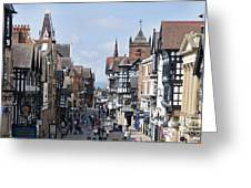 Chester City Centre Greeting Card