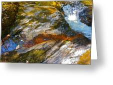Childs Brook Patterns 3 Greeting Card