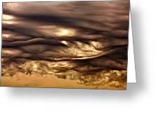 Chocolate Sky Greeting Card