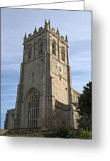 Christchurch Priory Bell Tower Greeting Card