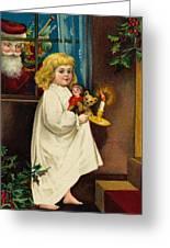 Christmas Card Greeting Card