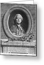 Christoph Willibald Gluck Greeting Card
