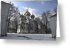 Churches Russia Greeting Card