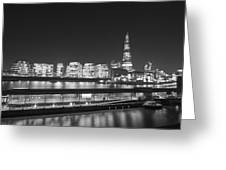 City Hall And Hms Belfast Greeting Card