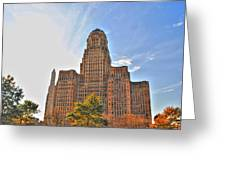 City Hall Greeting Card