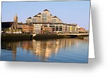 City Of Dublin Greeting Card
