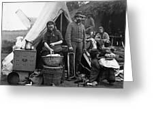 Civil War: Camp Life, 1861 Greeting Card