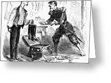 Civil War Cartoon Greeting Card