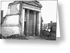 Civil War: Fall Of Richmond Greeting Card