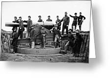 Civil War: Officers, 1865 Greeting Card