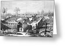 Civil War: Prison, 1864 Greeting Card