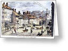 Civil War: Richmond, 1862 Greeting Card