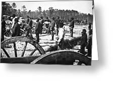 Civil War: Union Artillery Greeting Card