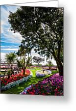 Clacton Pleasure Garden Greeting Card