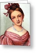 Clara Schumann (1819-1896) Greeting Card
