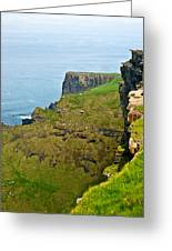 Cliff Of Moher 16 Greeting Card