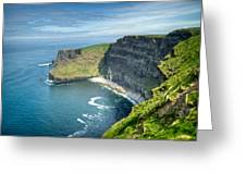 Cliff Of Moher 31 Greeting Card