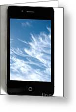 Cloud Computing Greeting Card by Photo Researchers
