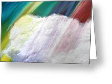 Cloud Within Rainbow Greeting Card