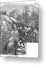 Colorado: Pikes Peak, 1867 Greeting Card