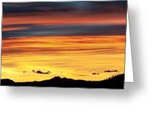 Colorado Sunrise Greeting Card by Beth Riser
