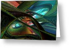 Colorfast Picasso Fx  Greeting Card